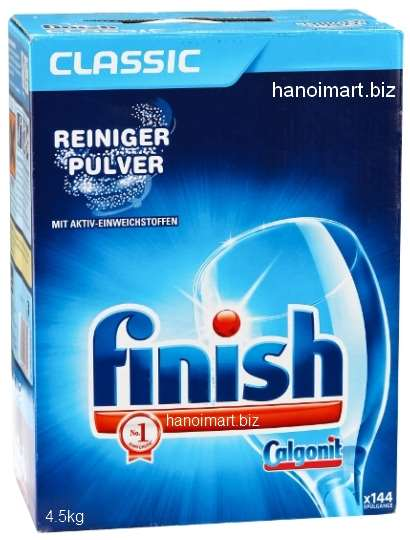 bột rửa bát finish nhập khẩu