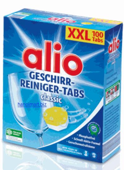 Viên rửa bát Alio chuyên dùng cho máy rửa bát giá rẻ nhất tại hà nội
