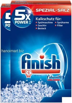 Muối rửa bát finish speczial salz 5x power nhập khẩu đức