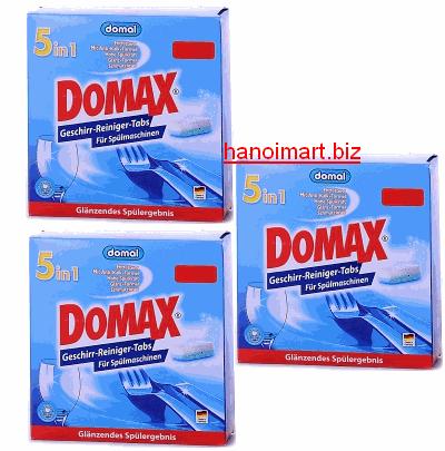 viên rửa bát domax chính hãng nhập khẩu Đức