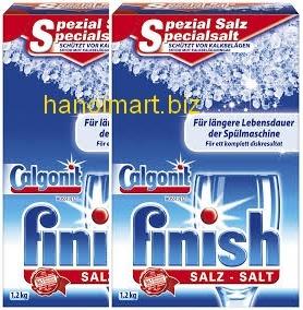 muối rửa bát finish nên dùng cùng nước làm bóng finish