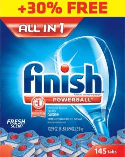viên rửa bát finish cao cấp nhập khẩu mỹ 145 tabs tốt nhất