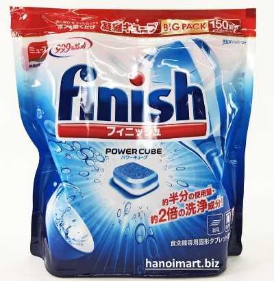 viên rửa bát finish nhập khẩu từ nhật bản 180 viên