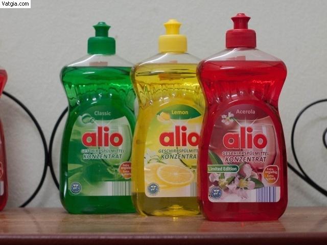 Dung dịch rửa bát chuyên dụng Alio cho bát đĩa sáng bóng và thơm hơn