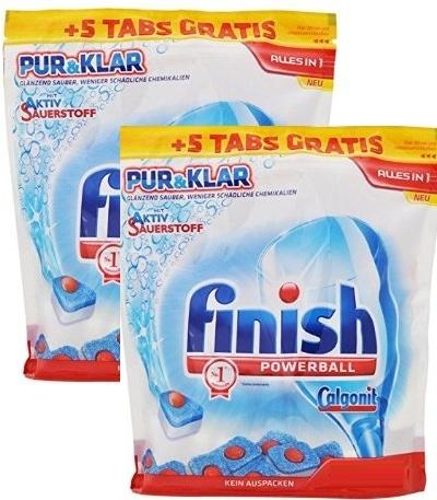 viên rửa bát finish 106 tabs all in one chuyên dùng cho máy rửa bát
