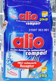 Bột rửa chén alio sản phẩm thống trị thị trường rửa chén trong nước