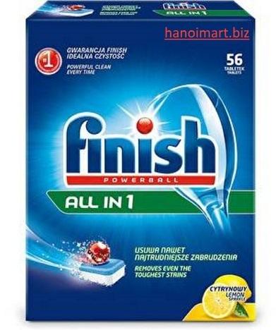 viên rửa bát finish 56 viên giá rẻ hàng xách tay