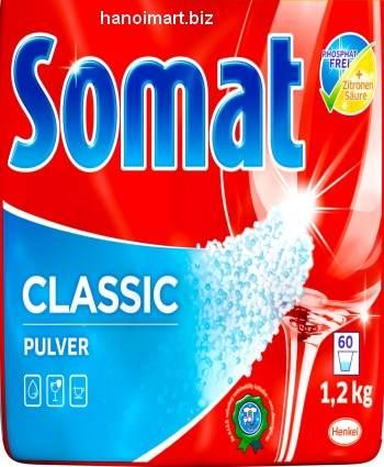 Bột rửa bát somat 1.2kg dùng cho Máy rửa bát