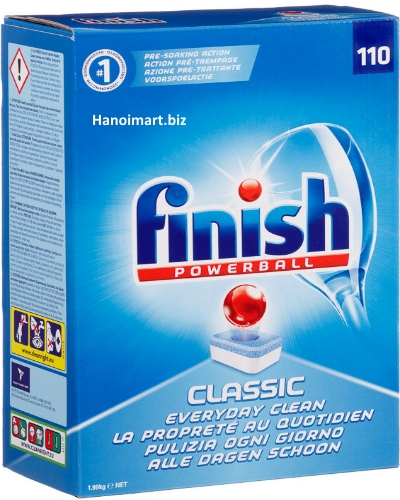 viên rửa bát finish made in eu 3.6kg Finish Spezialsalz