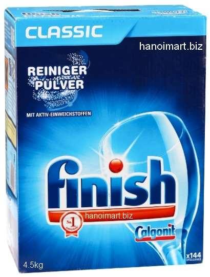 bột rửa bát finish nhập khẩu dùng cho máy rửa bát