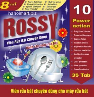 viên rửa bát rossy 35 viên liên doanh việt đức giá rẻ nhất