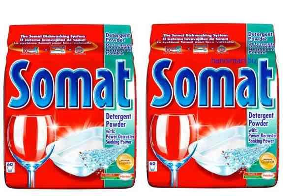 bột rửa bát somat nhập khẩu chính hãng 3kg ( bột rửa chén somat )