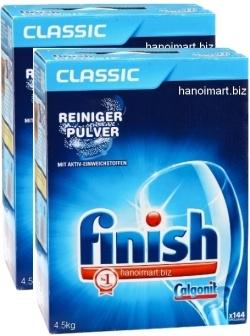 Bột rửa chén finish kèm nước làm bóng chén finish giá rẻ nhất