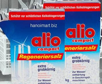 muối rửa bát alio compact regenerier salz