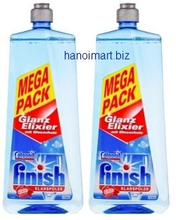 Nước làm khô bát finish calgonit 1150ml klarspuler glanz elixier
