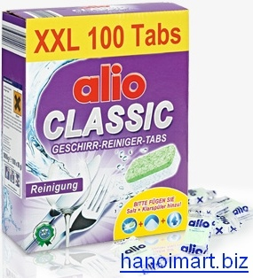 Nước làm bóng Alio chuyên dùng làm khô bát trong máy rửa bát