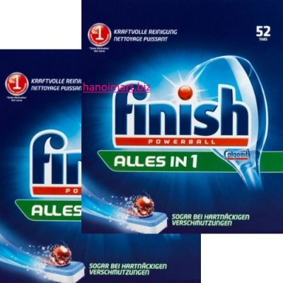 viên rửa bát finish calgonit powerball all in one 104 viên