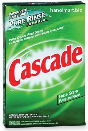 bột rửa bát cascade 2.54kg giá rẻ nhất