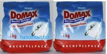 bột rửa bát domax nhập khẩu dùng cho máy rửa bát