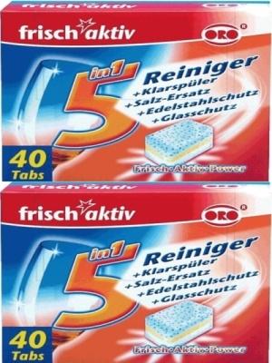 Viên rửa bát oro frisch aktiv 40 viên nhập khẩu đức
