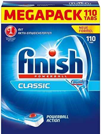 Viên rửa bát finish powerball 110 tabs nhập khẩu đức