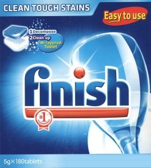 Chuyên bột rửa chén finish diệt khuẩn hiệu quả dành riêng máy rửa chén