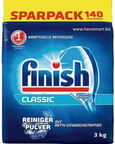 bột rửa bát finish classic reiniger punver 3kg nhập khẩu châu âu ( gói nhỏ )