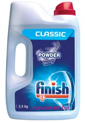 bột rửa bát finish loại nhỏ giá rẻ 2,5kg nhập khẩu châu âu